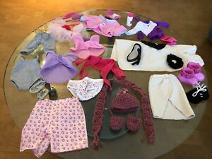 Large lot of doll clothes. American Girl/My Life