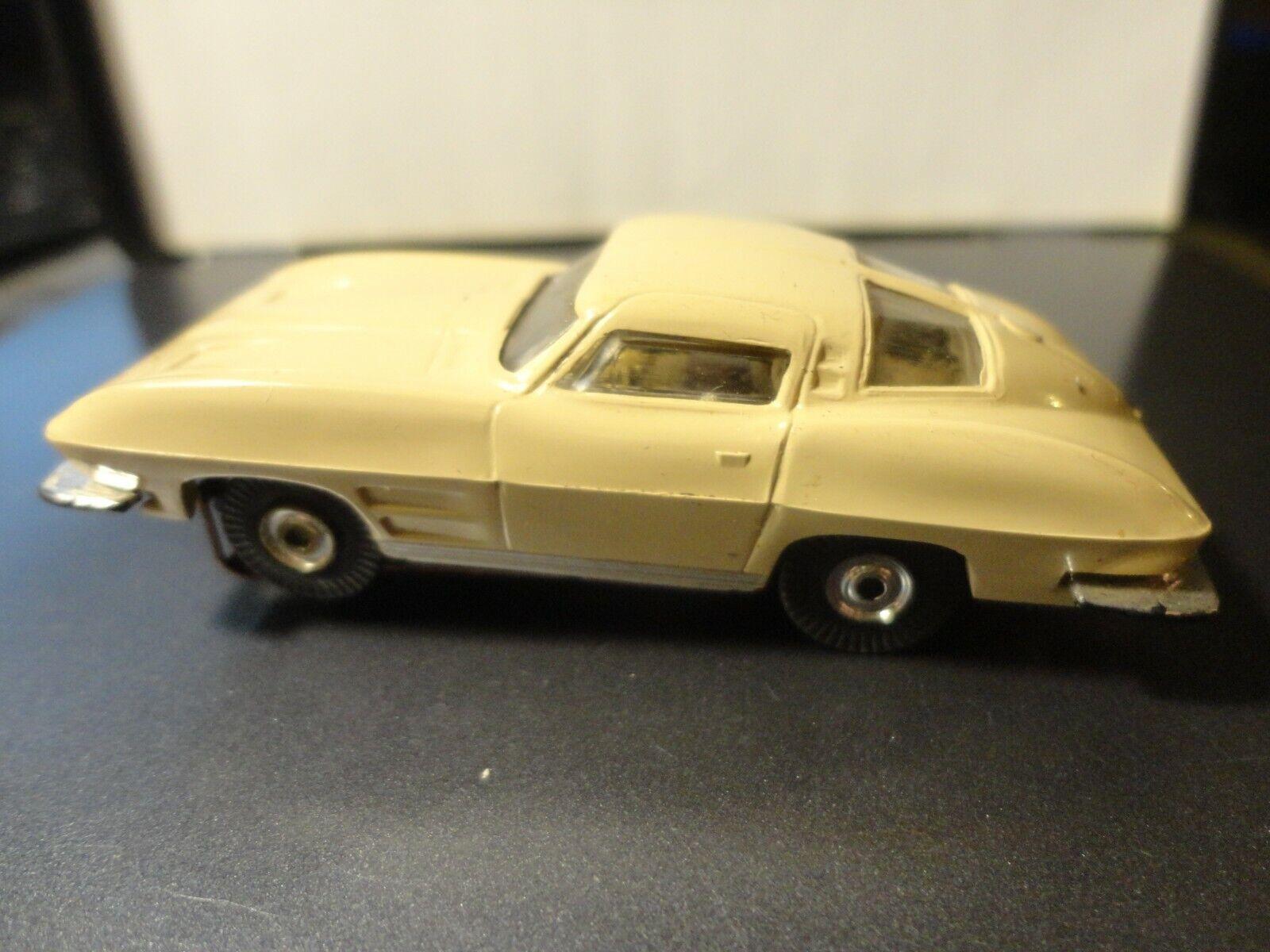 Vintage Aurora Tjet Ho Slot Car Tan Corvette - $48.00