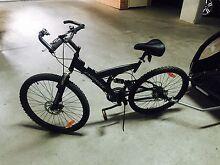 Mountain bike and kids trailer Croydon Park Canterbury Area Preview