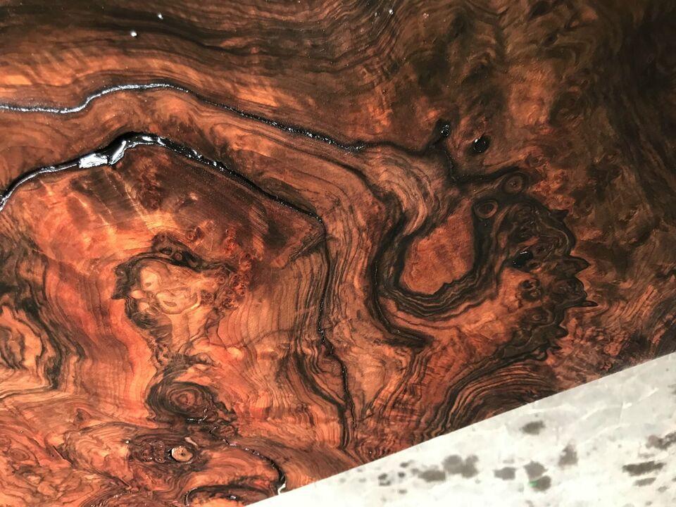 Massivholzplatte Waschtischplatte Epoxidharztisch Couchtisch in Halsenbach