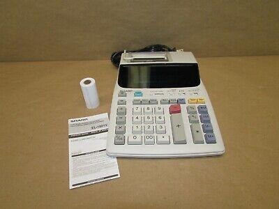 Sharp EL1801 V Printing Calculator
