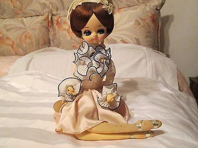 doll poupee   VECCHIA BAMBOLA MADE IN JAPAN    bambole  muneca usato  Italia