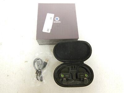 Rowkin Surge Charge True Wireless In Ear Headphones- (Black)