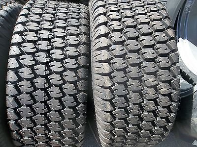 Two New 13.6x16 Carlisle John Deere 650 750 Four Ply Turf Tractor Tires