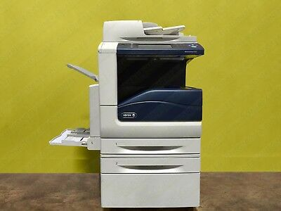 Xerox Workcentre 7535 Laser Color Bw Printer Scanner Copier 35 Ppm A3 Low Meter
