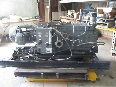 Edwards Drystar Vacuum Pump Wus 30hp Motor 1020902j Used