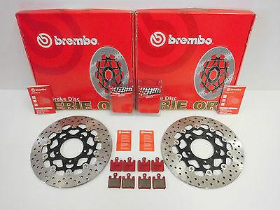 Brembo Bremsscheiben Bremse vorne + Beläge Kawasaki ZX6RR 600 ZX6R 636 ZX-6R