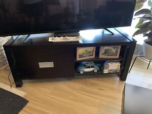 NEED GONE THIS WEEKEND Chocolate Tv unit