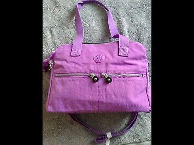 Kipling Purity Soft Purple Bag BRAND NEW TAGS, Medium Cross Body Bag