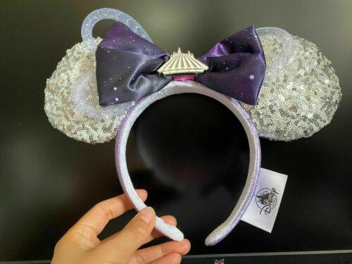 Disney Minnie Mouse Main Attraction Space Mountain Ear Headband