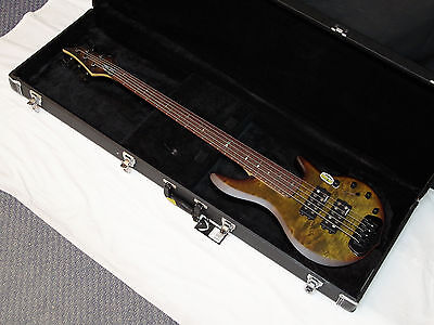 TRABEN Chaos Attack 5-string BASS guitar Granite NEW w/ CASE - Rockfield pickups