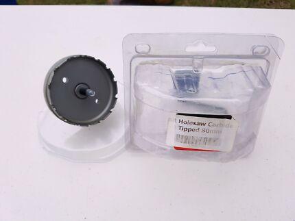 carbide hole saw kit. 80mm carbide cutter hole saw kit