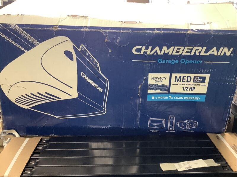 Chamberlain C205 1/2 HP Heavy-Duty Chain Drive Garage Door Opener New