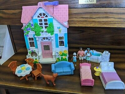 Fisher Price Sweet Streets Country Cottage with accessories