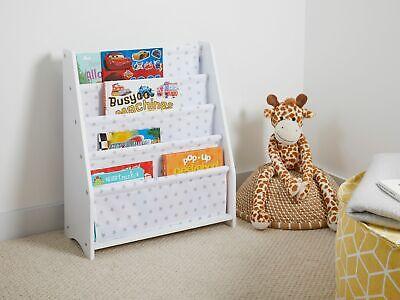 Childrens Kids Bedroom Nursery Hammock Style Storage Bookcase Shelving Playroom