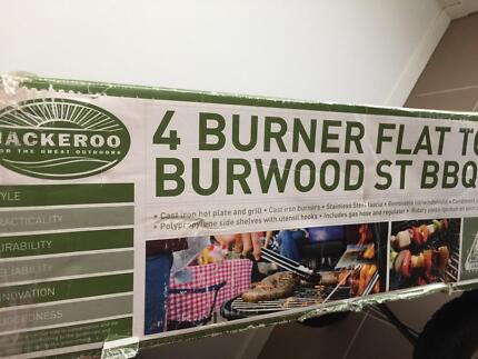 Jackeroo 4 burner BBQ brand new in box