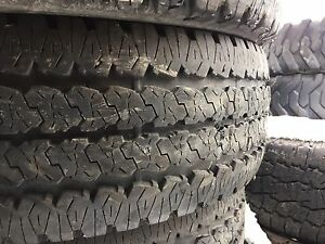 LT 275/70R18 Firestone trans force AT set of four tires.