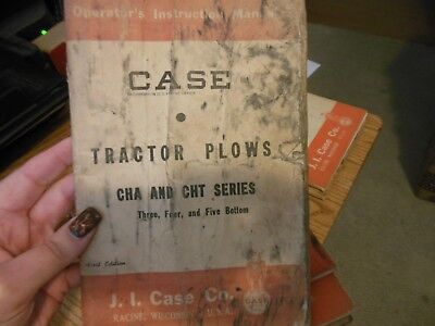 Case Tractor Plows Cha Cht Series 34 5 Bottom Operators Manual 1st Ed