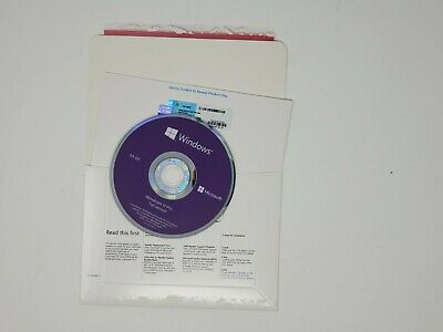 Authentic Microsoft Windows 10 Professional 64-bit Disc With Key New Sealed OEM