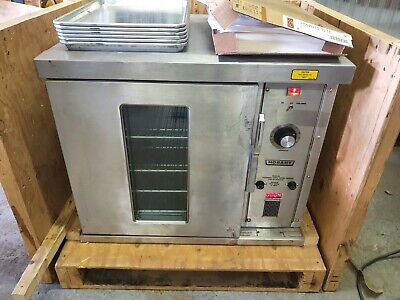 3 Phase Commercial Hobart Electric Convection Oven Cn85 Half Size 150-450 F 230v