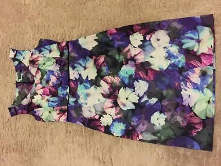 Jacqui-E Floral Dress Singleton Singleton Area Preview