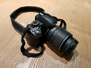 Nikon D3100 dslr camera Docklands Melbourne City Preview