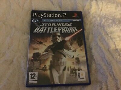 Playstation 2 Star Wars Battlefront (with net play)