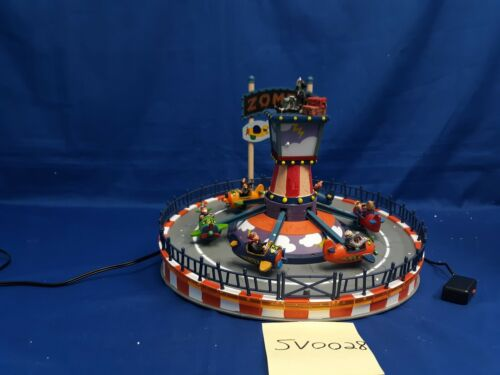 Lemax Spooky Town Zombie Plane Ride #64046 As Is SV0028