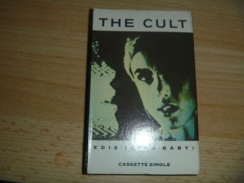 THE CULT EDIE (CIAO BABY) LOVE REMOVAL MACHINE LIVE CASSETTE SINGLE 1989