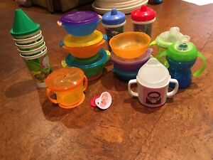 Baby bowls and cups