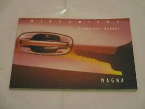 MITSUBISHI TS MAGNA******1996 OPERATORS MANUAL LOG BOOK. Wetherill Park Fairfield Area Preview
