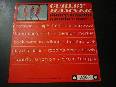 CURLEY HAMNER DANCE SESSION NUMBER ONE LP RECORD