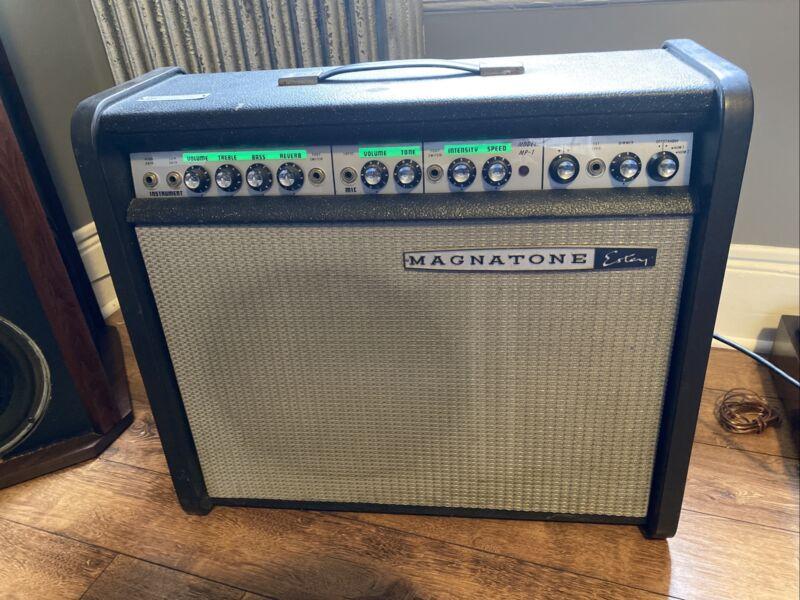 "Vintage Iconic Magnatone Estey MP1 Guitar Combo Amp 12"" Tube, Tremolo, Reverb"