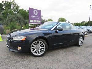2012 Audi A5 2.0L Premium Plus CONVERTIBLE NAVIGATION REAR CAME