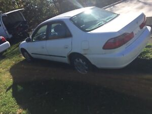 Parting out Toyota corolla&Honda accord