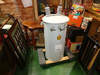 Wagner 25kva Transformer--720014400 To 120240v--single Phase--tesla Coil Power