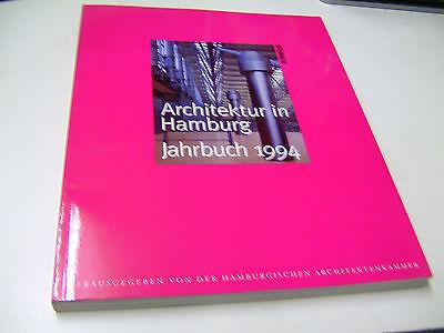 ARCHITEKTUR in HAMBURG - Jahrbuch 1994 NEUWERTIG