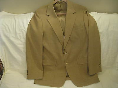 Arnie Men's Wool Blend Jacket, Sportcoat, Blazer-brown,awesome  42  T   Mint++++