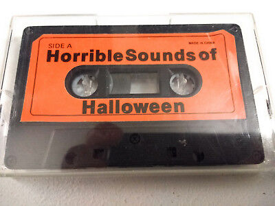 Horrible Sounds of Halloween Audiocassette (Sounds Of Halloween)