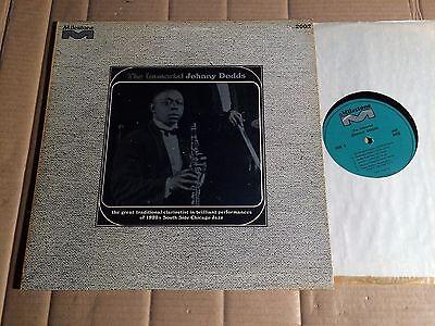 JOHNNY DODDS - THE IMMORTAL - LP - MILESTONE MLP-2002 - USA - Reissue