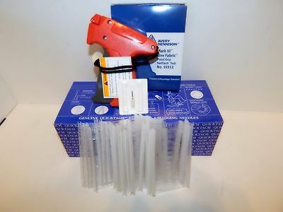 10312 Avery Dennison Fine Fabric Price Tagging Gun 5000 2 Clear Barbs