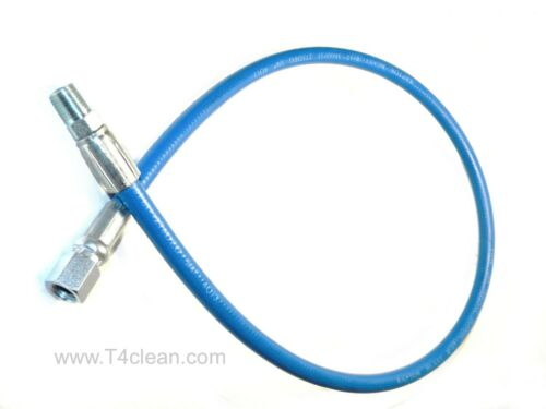 """Carpet Cleaning 3ft Solution Hose 1/4"""" 3000 psi MXF"""