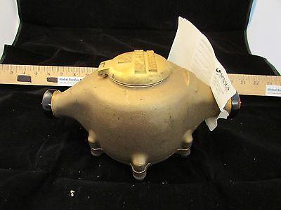 Sensus Sr 1 Bronze Water Meter Sr Dr 10g 4w2b Brand New