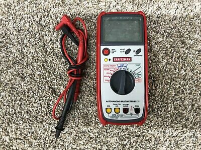 Craftsman Digital Multimeter 82175