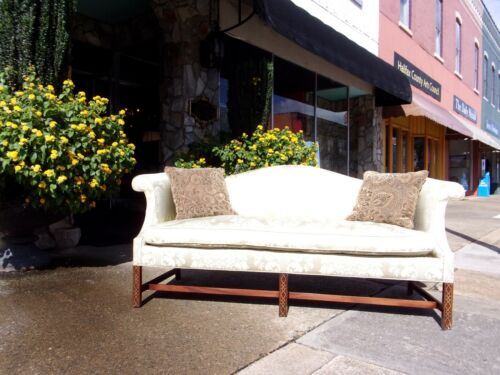 Fantastic Chinese Chippendale Sofa by Southwood 20thc.