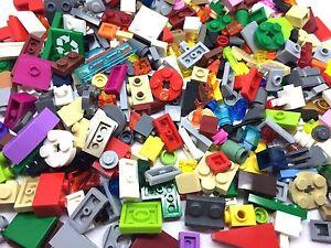 LEGO 100 Piece Good Mix Of Small Bricks Cone, Plate, Parts & Pieces Job Lot