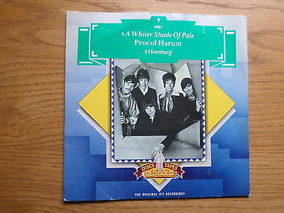 Procol Harum - A Whiter Shade Of Pale / Homburg Old Gold OG9225 for sale  Bolton