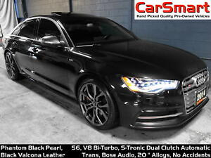 2014 Audi S6 4.0 Bi-Turbo, Bose, 20Alloys, Sport Differential