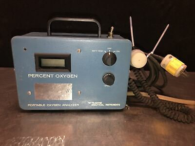 Teledyne Portable Oxygen Analyzer. No Power. Offered For Partsnot Working