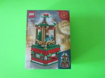 Lego Christmas Carousel 40293 New - Also Ships Internationally with Ebay Global